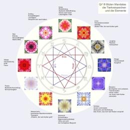 Abbildung ChiSqaure Design - die 12 Sternzeichen